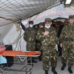 الجيش على استعداد لوضع مستشفيات ميدانية للتكفل بمرضى كورونا
