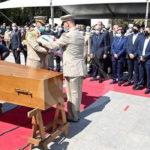 جثمان رئيس الجمهورية السابق، عبد العزيز بوتفليقة يوارى الثرى بمقبرة العالية